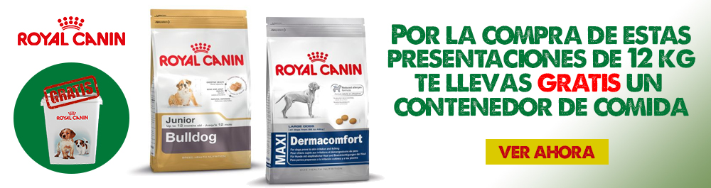 Royal Canin dispensador
