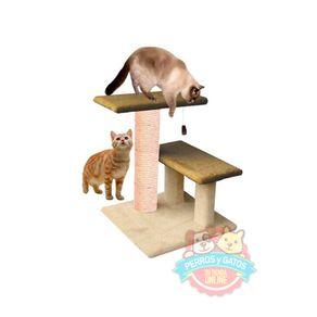 Rascador-para-gato-diseño-2-pisos